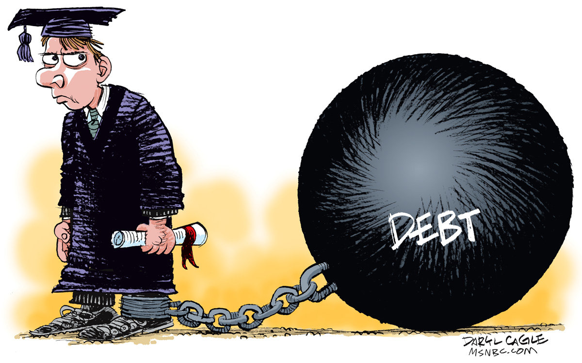 the debt problem for the students in the united states How other countries could help america's student debt problem by allie bidwell, communications staff more than 40 million people in the united states collectively owe upwards of $1 trillion in student loan debt.